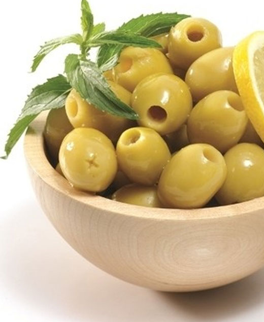 Seedless Green Olives
